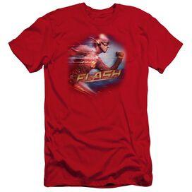 The Flash Fastest Man Premuim Canvas Adult Slim Fit