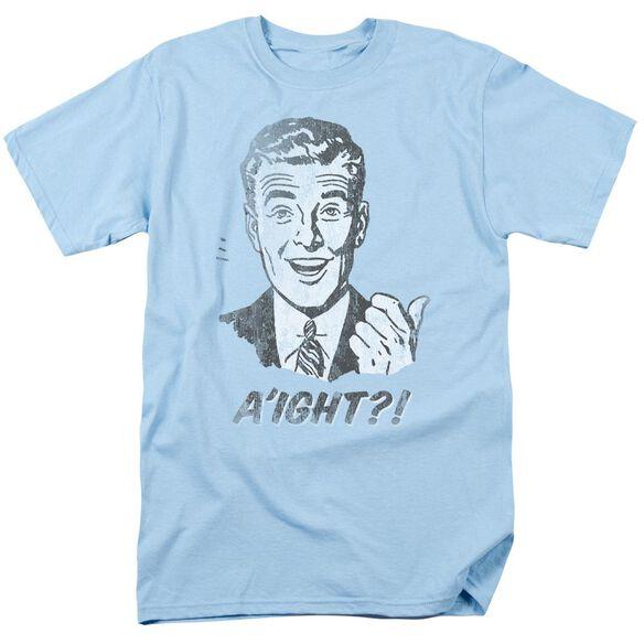Aight Short Sleeve Adult Light T-Shirt
