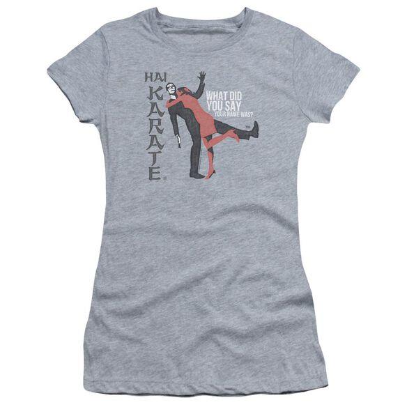 Hai Karate Name Short Sleeve Junior Sheer Athletic T-Shirt