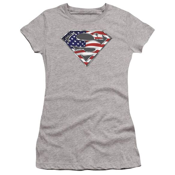 Superman All Premium Bella Junior Sheer Jersey Athletic