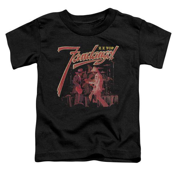 Zz Top Fandango Short Sleeve Toddler Tee Black T-Shirt