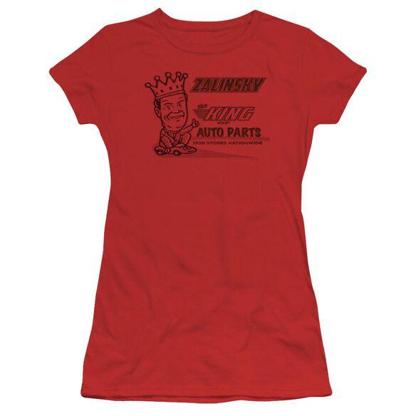 Tommy Boy Zalinsky Auto Short Sleeve Junior Sheer T-Shirt