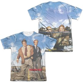 Tommy Boy Poster (Front Back Print) Adult 65 35 Poly Cotton Short Sleeve Tee T-Shirt