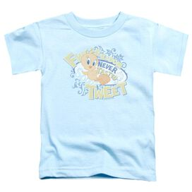 Looney Tunes Fweedom Short Sleeve Toddler Tee Light Blue T-Shirt