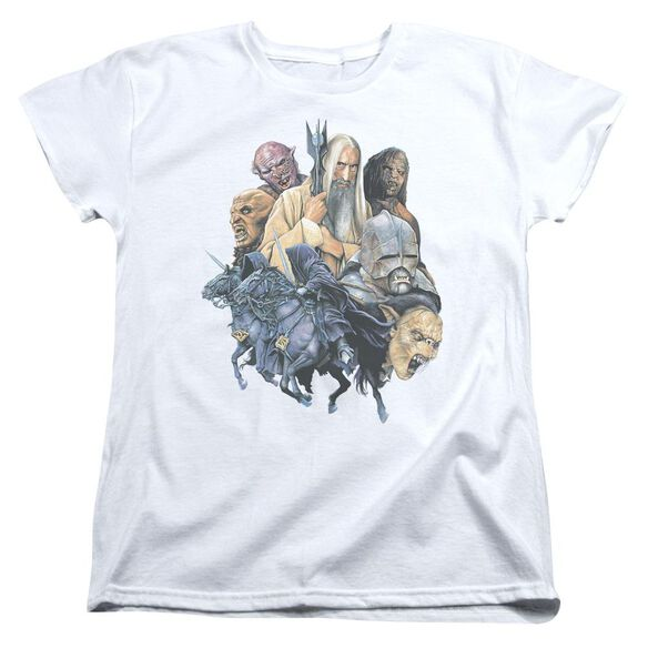 Lor Collage Of Evil Short Sleeve Womens Tee T-Shirt