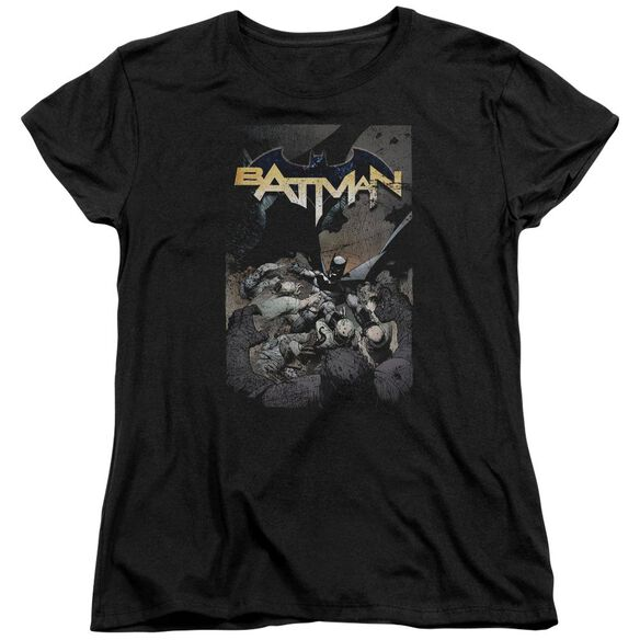Batman Batman One Short Sleeve Womens Tee T-Shirt