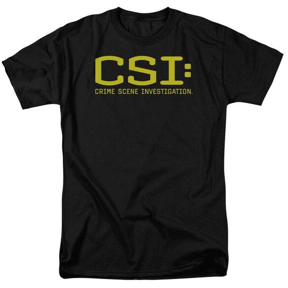 Csi Logo Short Sleeve Adult T-Shirt