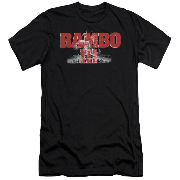 Rambo Iii John Rambo Short Sleeve Adult T-Shirt