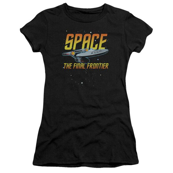 Star Trek Space Premium Bella Junior Sheer Jersey