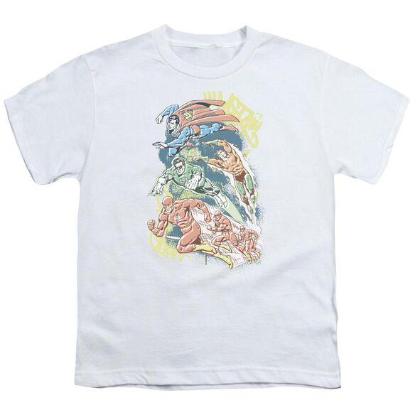 Dc Halftone League Short Sleeve Youth T-Shirt