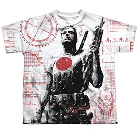 Bloodshot Tactical Short Sleeve Youth Poly Crew T-Shirt