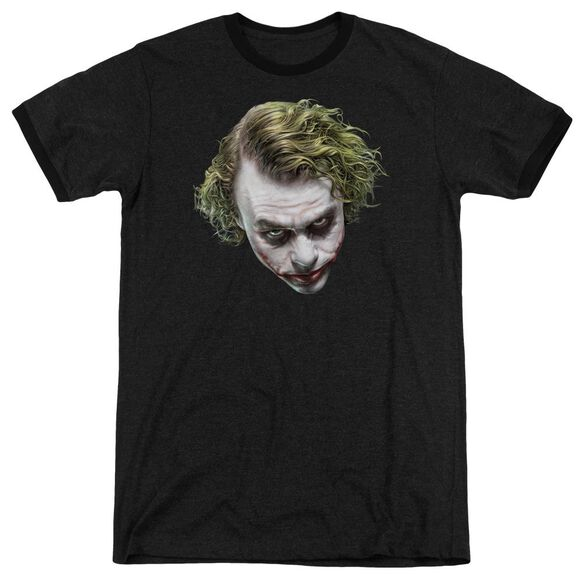 Dark Knight Painted Joker Head Adult Ringer