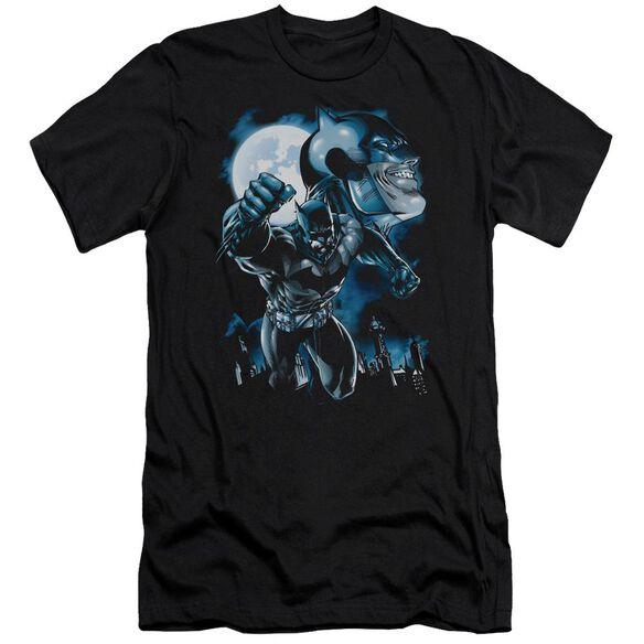 Batman Moonlight Bat Short Sleeve Adult T-Shirt