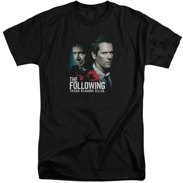 Following Enemies Short Sleeve Adult Tall T-Shirt