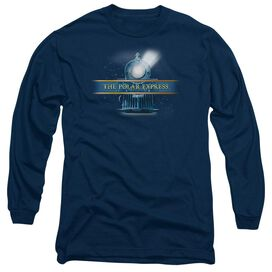 Polar Express Train Logo Long Sleeve Adult T-Shirt