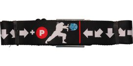 Street Fighter Special Moves Wrap Seatbelt Belt
