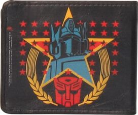 Transformers Stars Optimus Prime Wallet