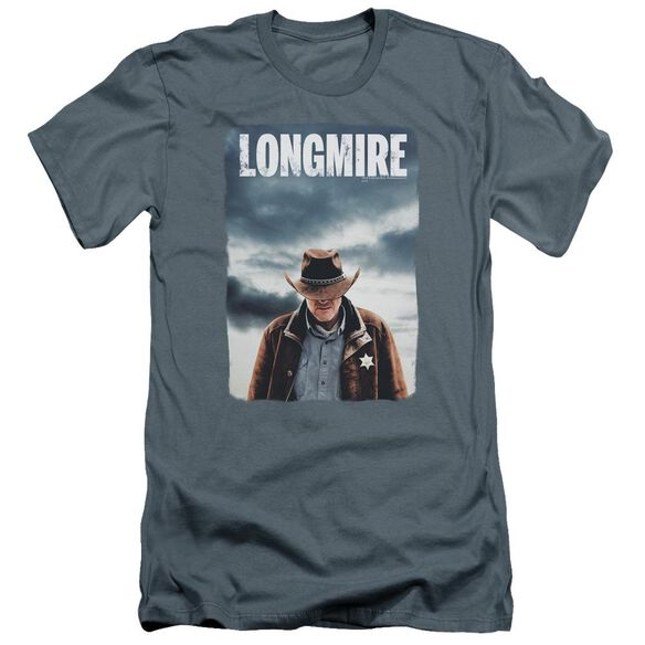 Longmire Poster Premuim Canvas Adult Slim Fit