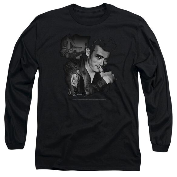 Dean Mischevious Large Long Sleeve Adult T-Shirt