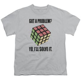 Rubik's Cube Problem Solver Short Sleeve Youth T-Shirt