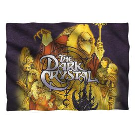 Dark Crystal Poster Pillow Case White