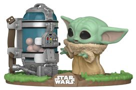 Funko Pop! Deluxe: Star Wars: The Mandalorian - Child with canister
