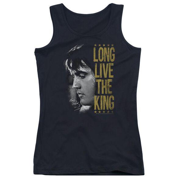 Elvis Presley Long Live The King Juniors Tank Top