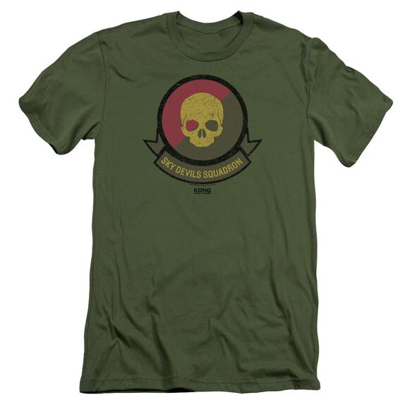 Kong Skull Island Squadron Hbo Short Sleeve Adult Military T-Shirt