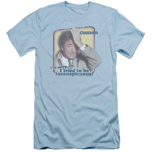 Columbo Inconspicuous Short Sleeve Adult Light Light T-Shirt