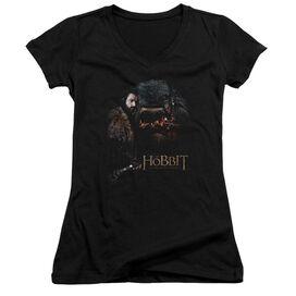 The Hobbit Cauldron Junior V Neck T-Shirt