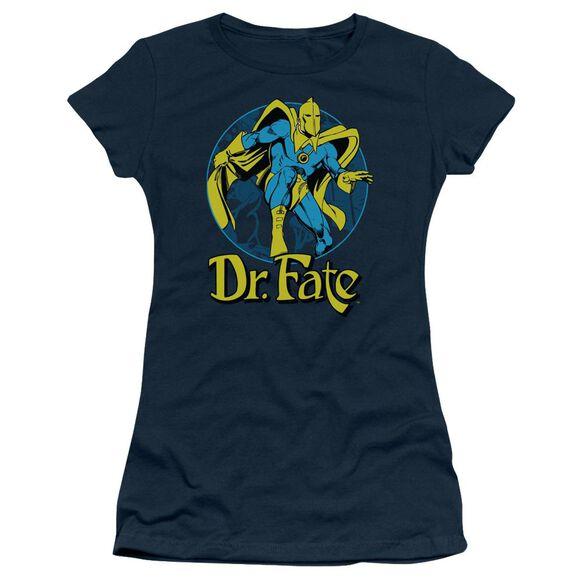 Dc Dr Fate Ankh Short Sleeve Junior Sheer T-Shirt