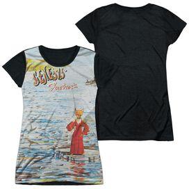 Genesis Foxtrot Cover Short Sleeve Junior Poly Black Back T-Shirt