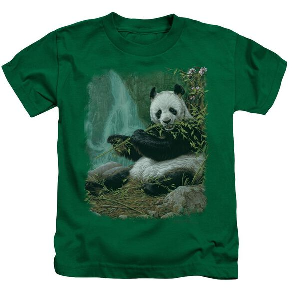 Wildlife Citizen Of Heaven On Earth Short Sleeve Juvenile Kelly T-Shirt