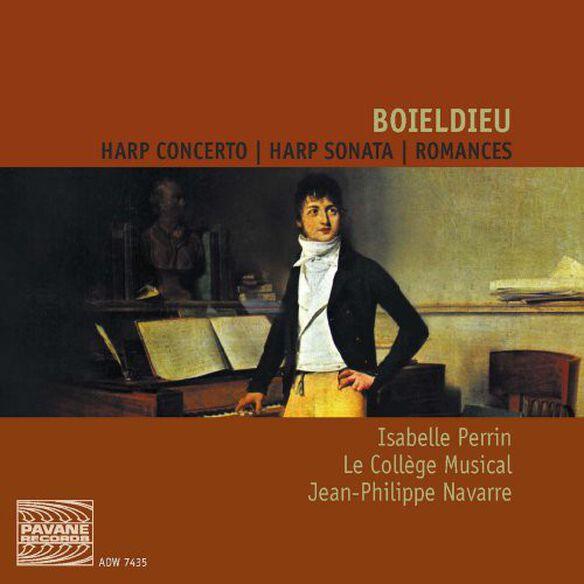 Boieldieu/ Perrin/ Pauchet/ Navarre - Harp Concerto