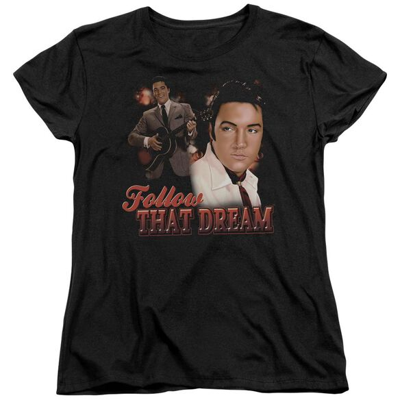Elvis Presley Follow That Dream Short Sleeve Womens Tee T-Shirt