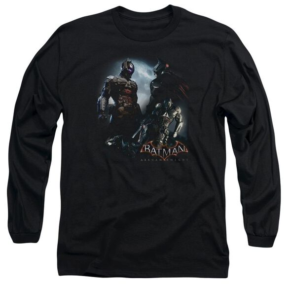 Batman Arkham Knight Face Off Long Sleeve Adult T-Shirt