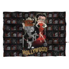 Betty Boop Hollywood Nights Pillow Case White