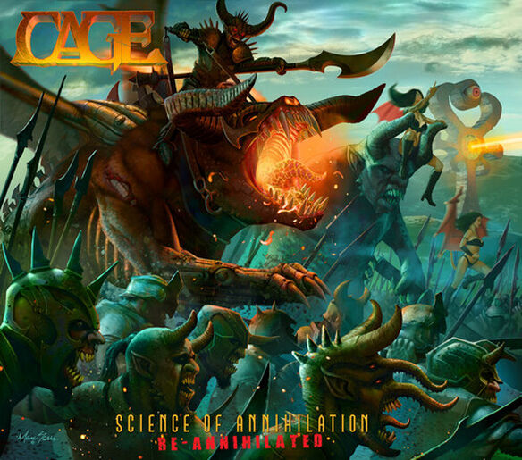 Cage - Science Of Annihilation-re-annihilated