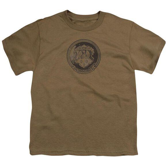 Oldsmobile 1940 S Emblem Short Sleeve Youth Safari T-Shirt