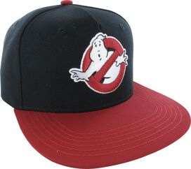 Ghostbusters Logo Who Ya Gonna Call Snapback Hat