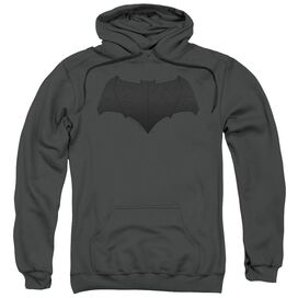 Justice League Movie Batman Logo Adult Pull Over Hoodie