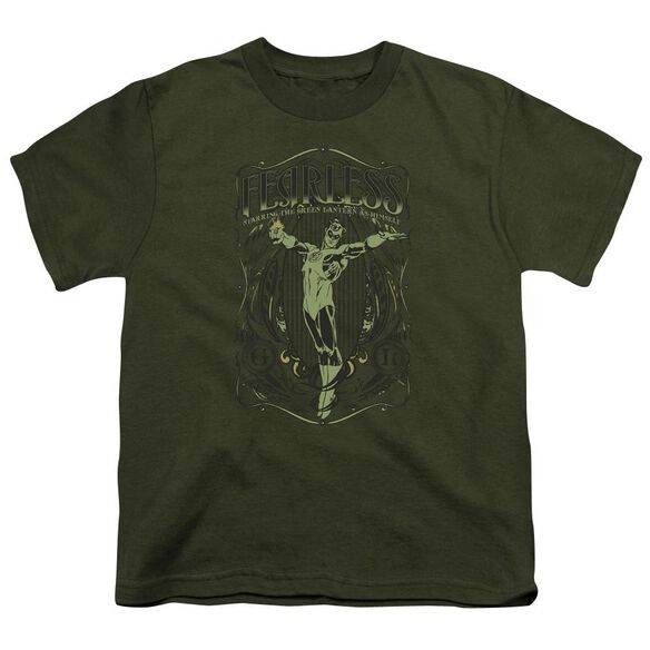 Dc Fearless Short Sleeve Youth Military T-Shirt