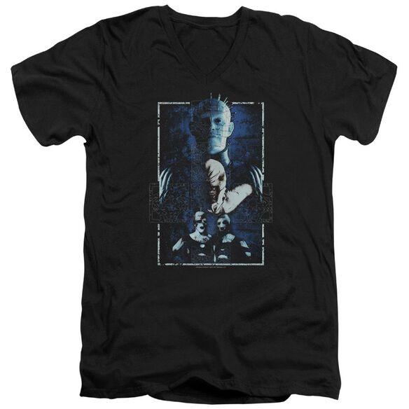 Hellraiser Cenobites Short Sleeve Adult V Neck T-Shirt