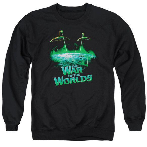 War Worlds Global Attack Adult Crewneck Sweatshirt