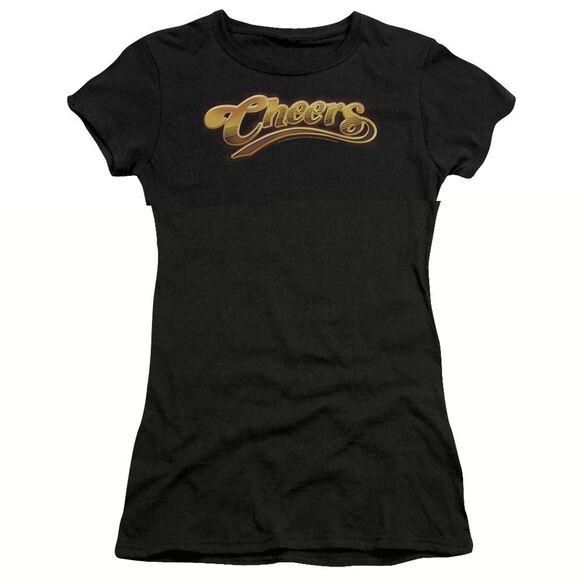 CHEERS CHEERS LOGO - S/S JUNIOR SHEER T-Shirt