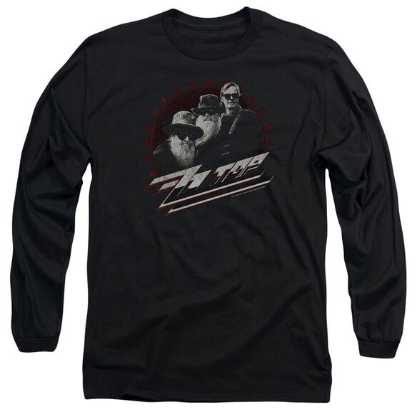 Zz Top The Boys Long Sleeve Adult T-Shirt