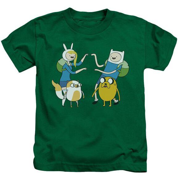 Adventure Time Meet Up Short Sleeve Juvenile Kelly T-Shirt