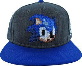 Sonic the Hedgehog Pixel Head Hat