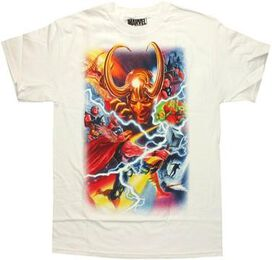 Thor Marvel 75th Special Edition Alex Ross T-Shirt