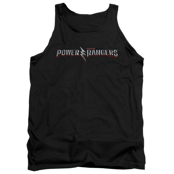 Power Rangers Movie Logo Adult Tank